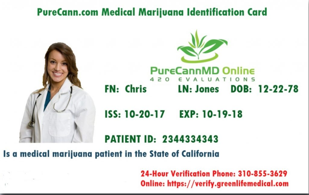 Purecannmd Company Uses The California Board Of Health S Guidelines For Telehealth 420 Evaluations Licensed Doctors Follows Medical